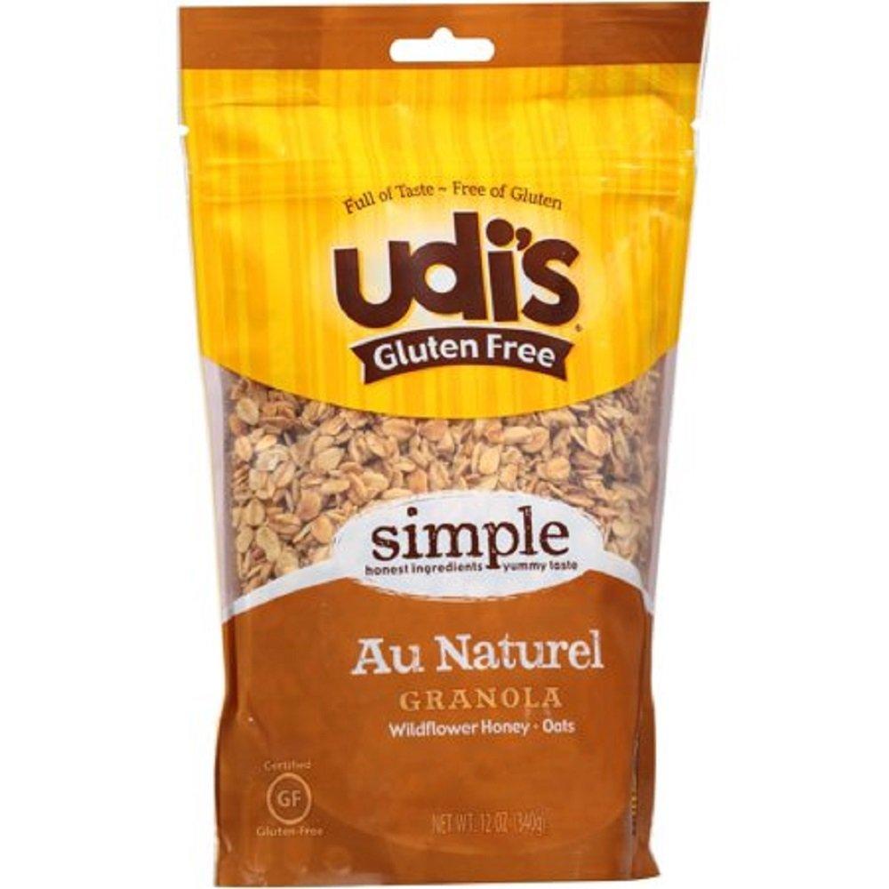Sin gluten, Au Naturel Granola, Wildflower miel aves, granos ...