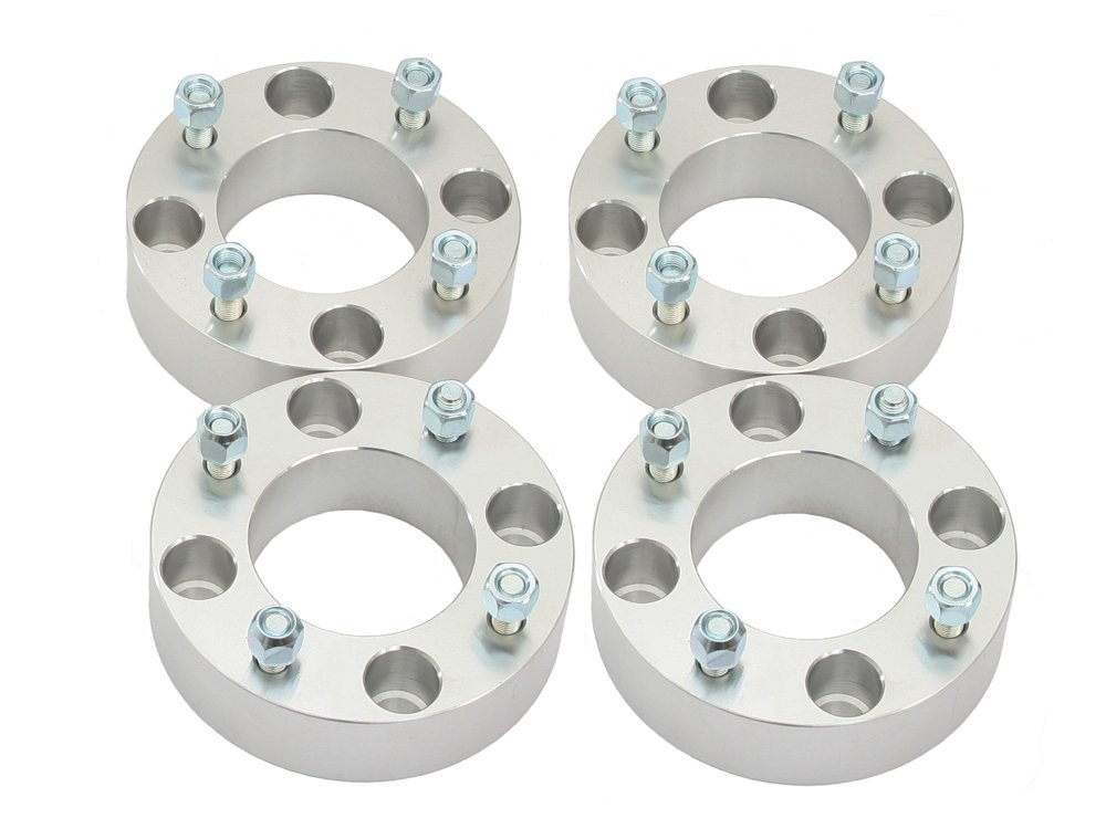 (4) 2'' Thick 4x115 ATV Wheel Spacers with 10x1.25 Studs/Nuts for Arctic Cat 250 300 400 500 650 700 1000, Prowler XT 550 650 700 4x4, Wildcat 1000 4WD