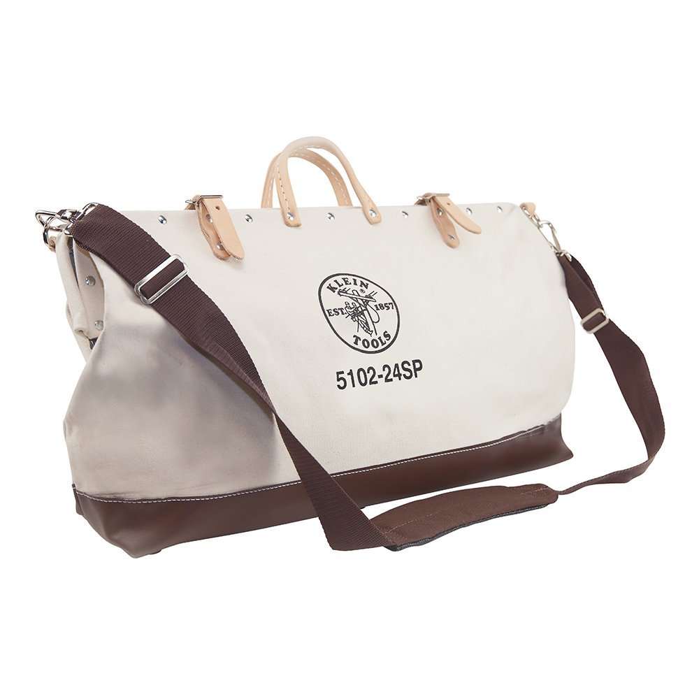 Deluxe Canvas Tool Bag, 24-Inch Klein Tools 5102-24SP by Klein Tools (Image #1)