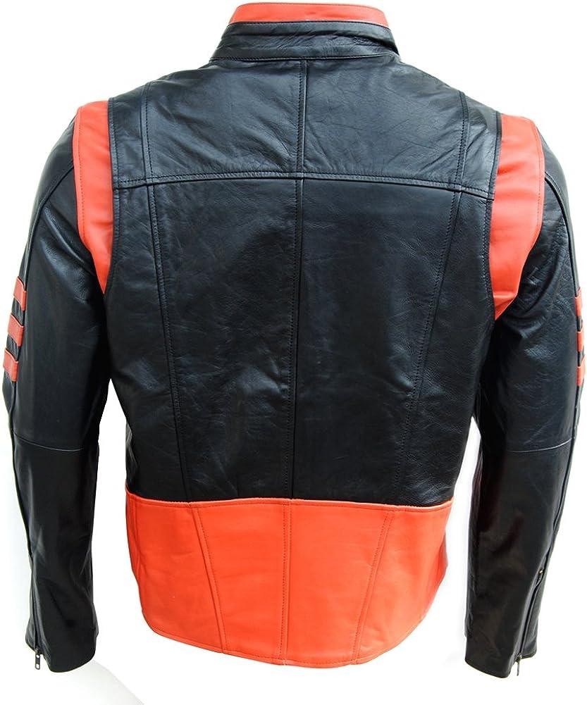 coolhides Mens Xmen Fashion Leather Jacket