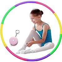 Hula Hoops voor kinderen, Alldo Multicolor kleine kinderen hoelahoep afneembare sport jongens & meisjes voor dans/gym…