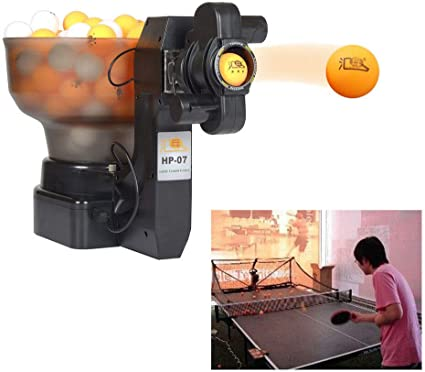Ping Pong Table Tennis Automatic Robots Ball Machine Professional Training Robot