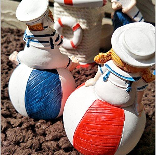 LHFJ Mediterranean Style Home Decoration Kids Ornaments Crafts by LHFJ (Image #3)
