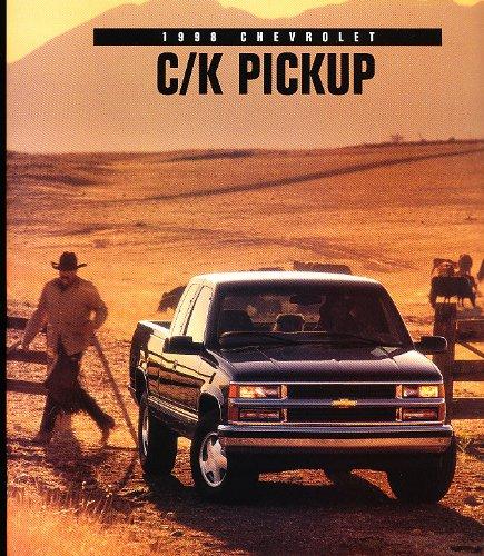 1998 Chevrolet Truck Silverado Sales Brochure