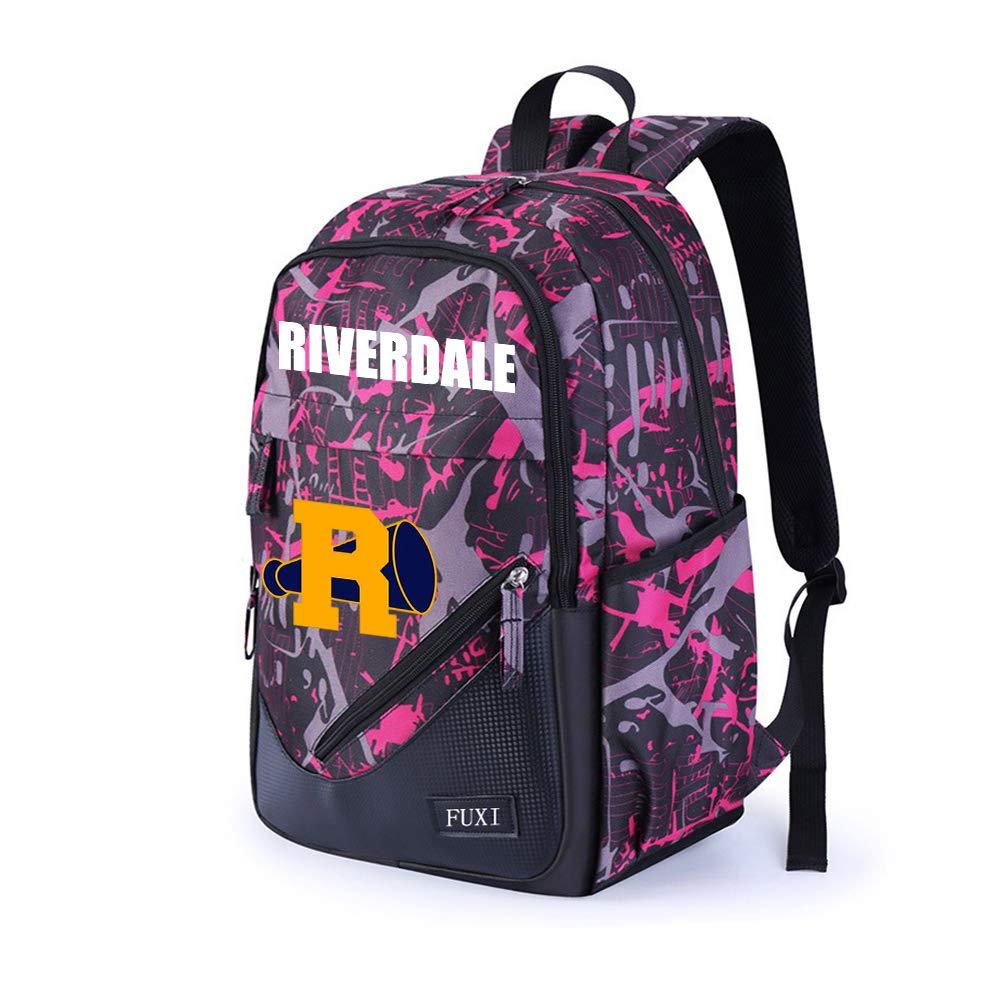 Riverdale Zaini Casual Zaino per studenti casual unisex per zaini leggeri unisex Zaini e borse sportive Color : Blue01, Size : 32 X 17 X 45cm