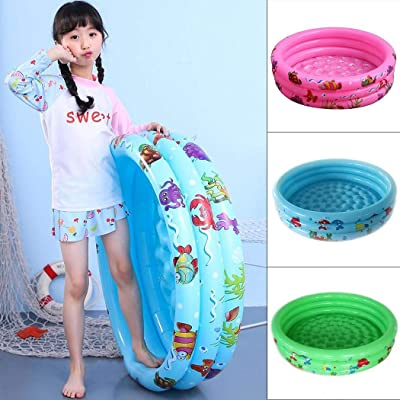 hiriyt Home Outdoor Portable Inflatable Baby Children Playing Water Pool Baby Floats: Home & Kitchen