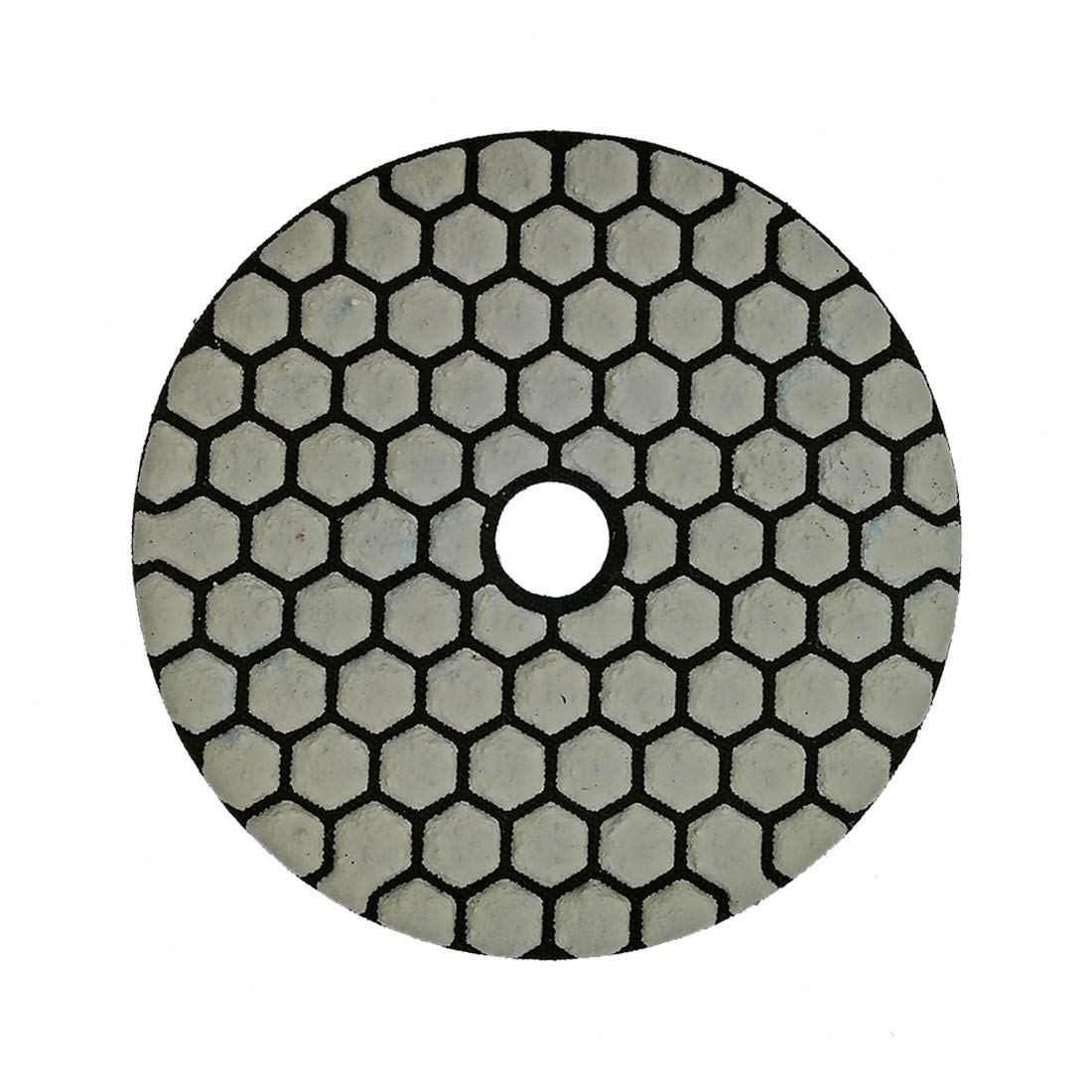SHDIATOOL Diamante Lucidatura Pad 7 Pezzi Grana 800 per Lucidare a Secco Marmo Granito Pietra Ceramica Dia 100mm//4 Pollici