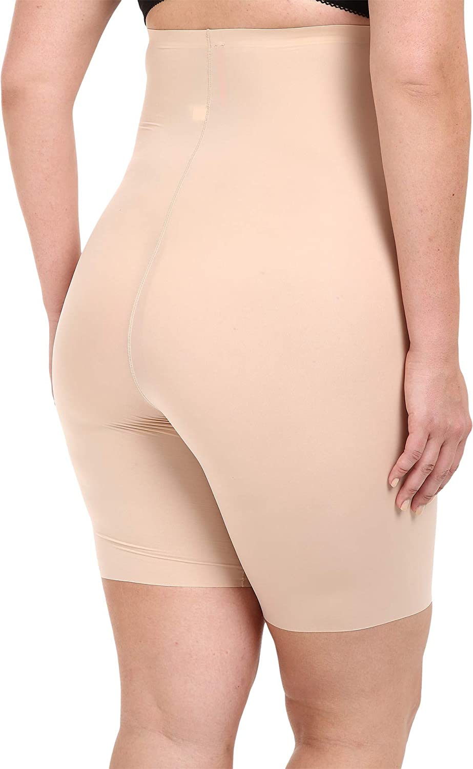 46e715479 SPANX Women s Plus Size Thinstincts High-Waisted Mid-Thigh Short at Amazon  Women s Clothing store