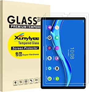 [2-Pack] XunyLyee Compatible with Lenovo Tab M10 FHD Plus Screen Protector, 9H Hardness Anti-Scratch Tempered Glass Film for Lenovo Tab M10 FHD Plus 10.3 TB-X606F