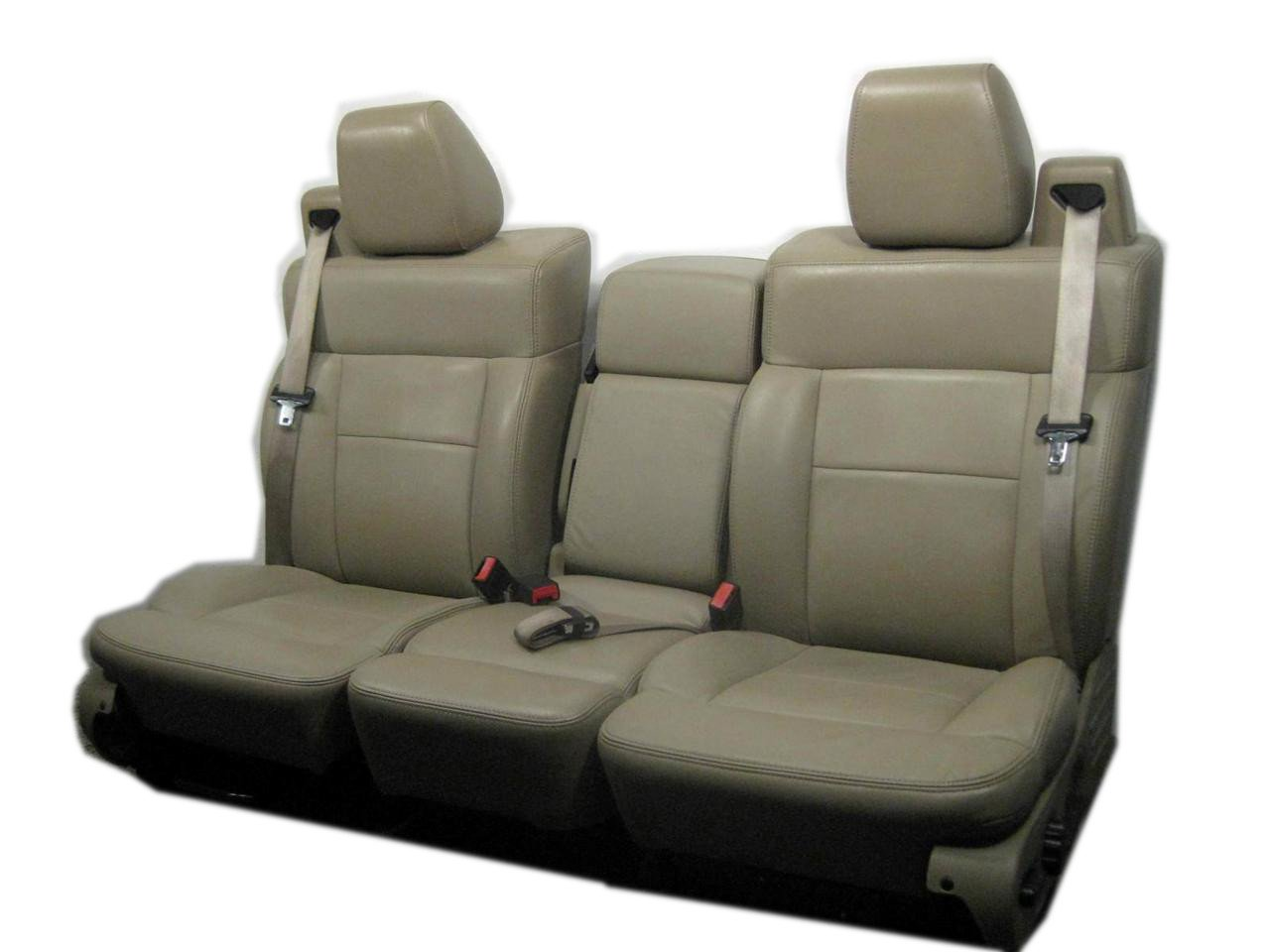 Remarkable Amazon Com Ford F 150 Oem Used Replacement Leather Seats Machost Co Dining Chair Design Ideas Machostcouk