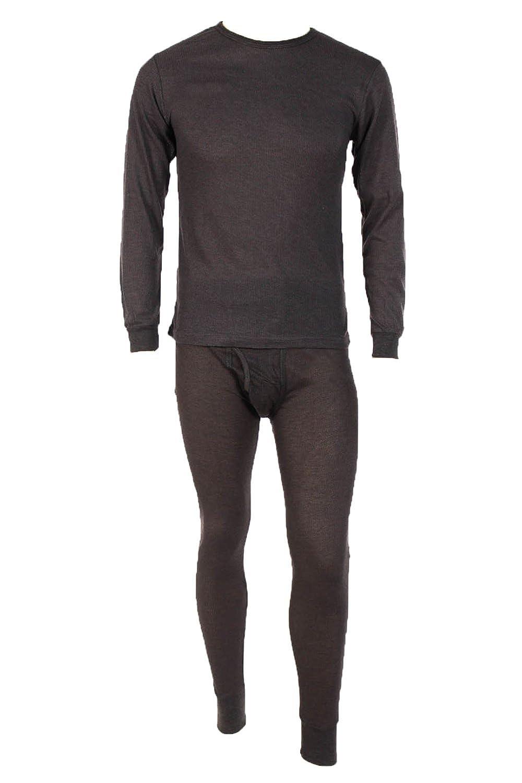 0031d6520c6e Men's Two Piece Long Johns Thermal Underwear Set at Amazon Men's Clothing  store: