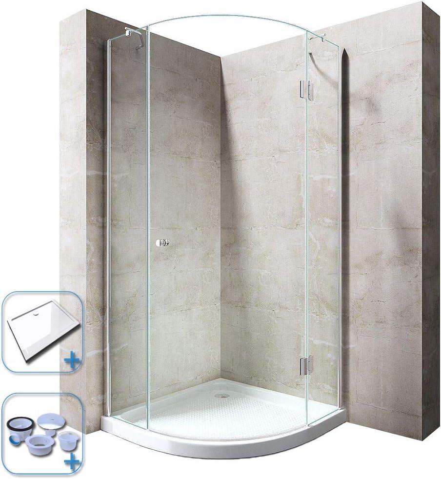 durovin baños lujo moderno Ravenna 6 ducha almacenaje transparente ...