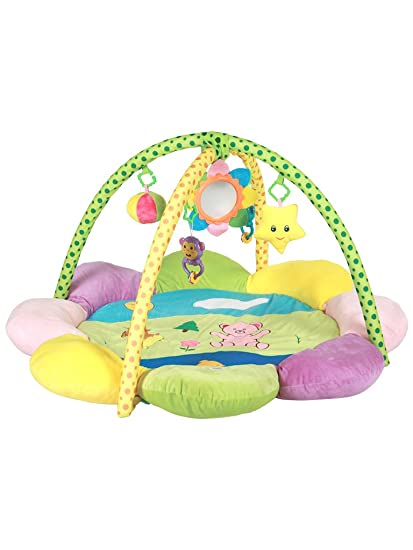 af3530e17c818 Buy Mee Mee Baby Play Gym Mat (Cushioned Deluxe - Teddy Print) Online at  Low Prices in India - Amazon.in