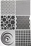 School Specialty Art Screens, Geometric Designs, Set of 6