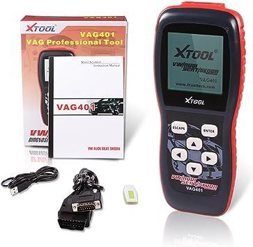 Xtool Vag401 Porfessional Live Data OBD2 Dignostic Tool Obdii for Vw Audi Seat Skoda Vehicles