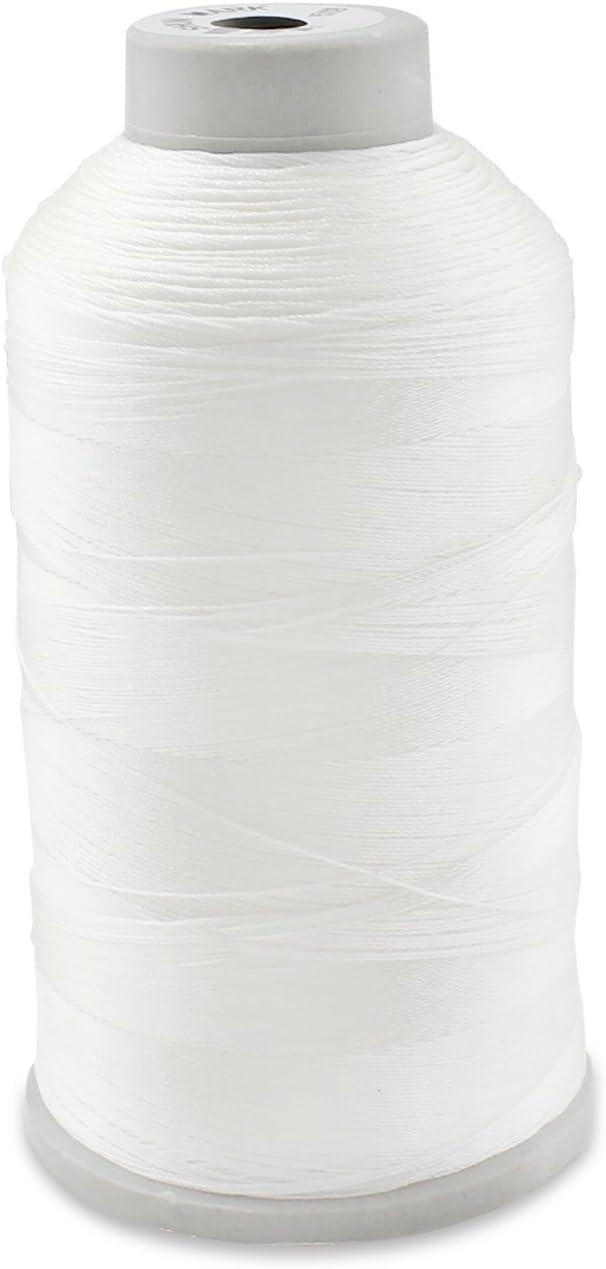 Aussel T70 - Hilo de Coser de Nylon , blanco