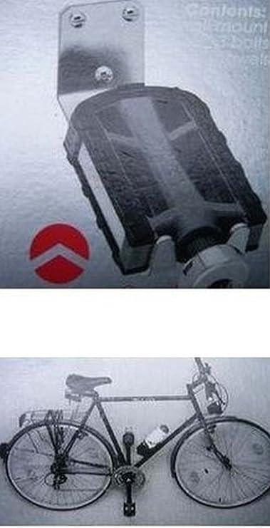 10 x 14,5 cm Fahrradhalter zur Wandmontage Auflagefl/äche B x T: ca Aufh/ängen am Pedal relaxdays 3X Fahrradhalterung Bis 20 kg