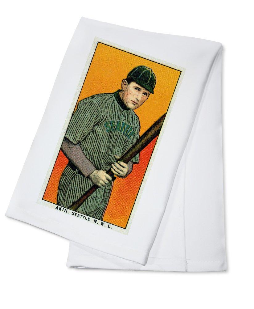 Seattle Northwestern League – Akin – 野球カード Cotton Towel LANT-23581-TL Cotton Towel  B0184B9LJC