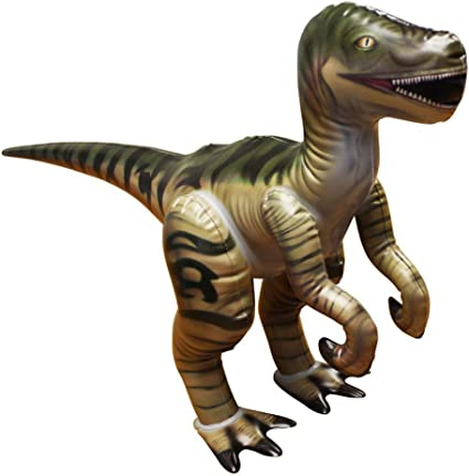 Jet Creations Velociraptor Inflatable Dinosaur Toy JEXMY DI-RAPTOR