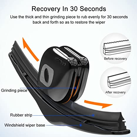 Limpiador de limpiaparabrisas de la tira de goma del parabrisas del coche Restaurador de la lámina