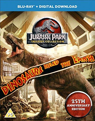 Jurassic Park Trilogy (BD) [Blu-ray] [2018] [Region Free] (Jurassic Park Blu Ray Set)
