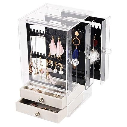 Soportes para joyas Organizador de joyas Collar Pendientes y ...