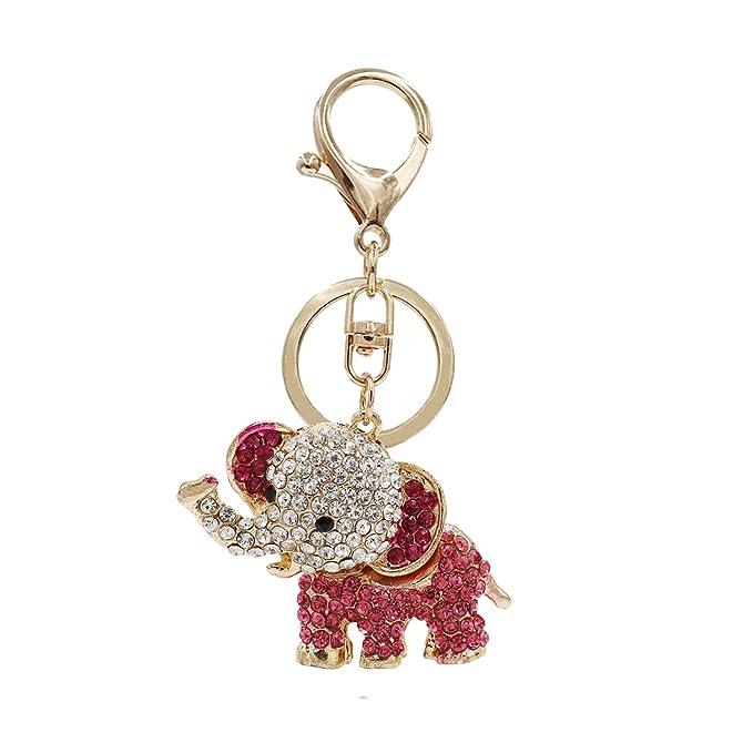 Amazon.com: Aiphamy llavero bolso colgante llavero anillo ...