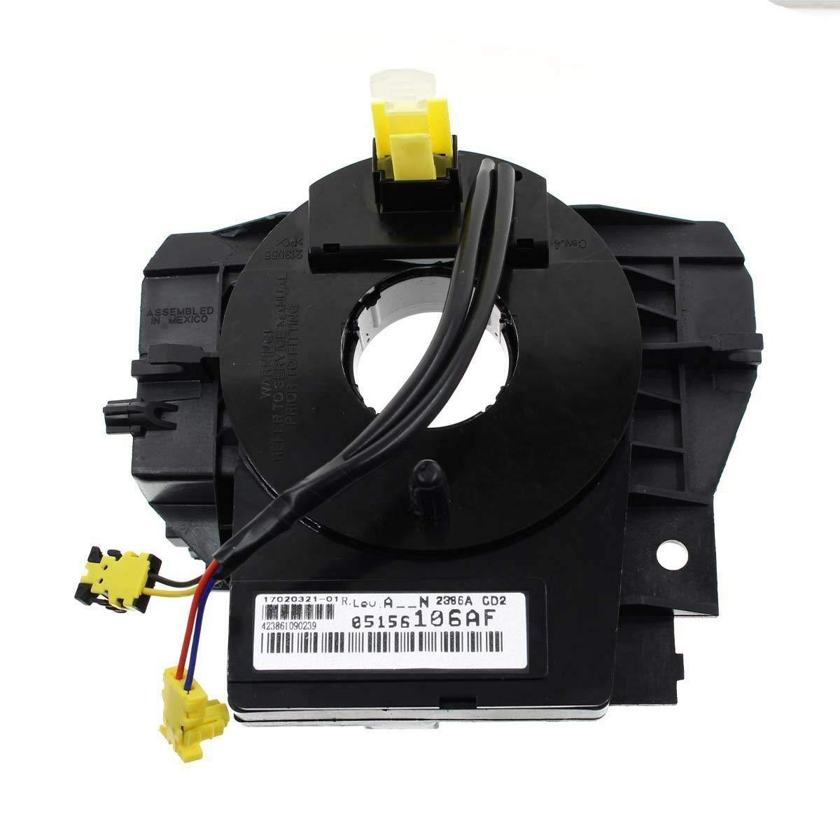 GENUINE BEST VALUE 5156106AF Steering Wheel Spiral Cable Clock Spring