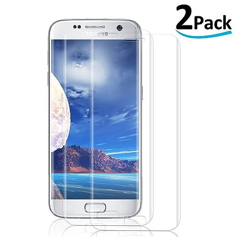 2-Pack  Verre Trempé pour Samsung Galaxy S7,  3D Couverture Complète ... 506ef8ef00ee