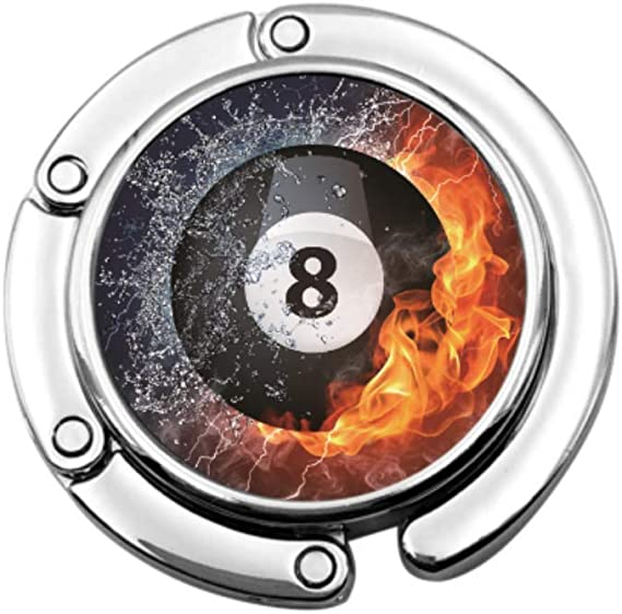 Número Ocho espíritus de Bolas de Billar en Fuego Organizador de ...