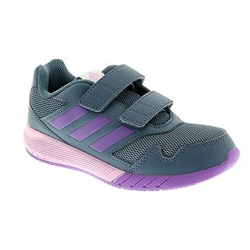 adidas Children s Sports Shoe ALTA Run Cf K blau lila  Amazon.co.uk  Sports    Outdoors 94b54189daf