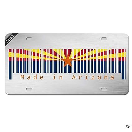 Arizona Biker Novelty Metal License Plate