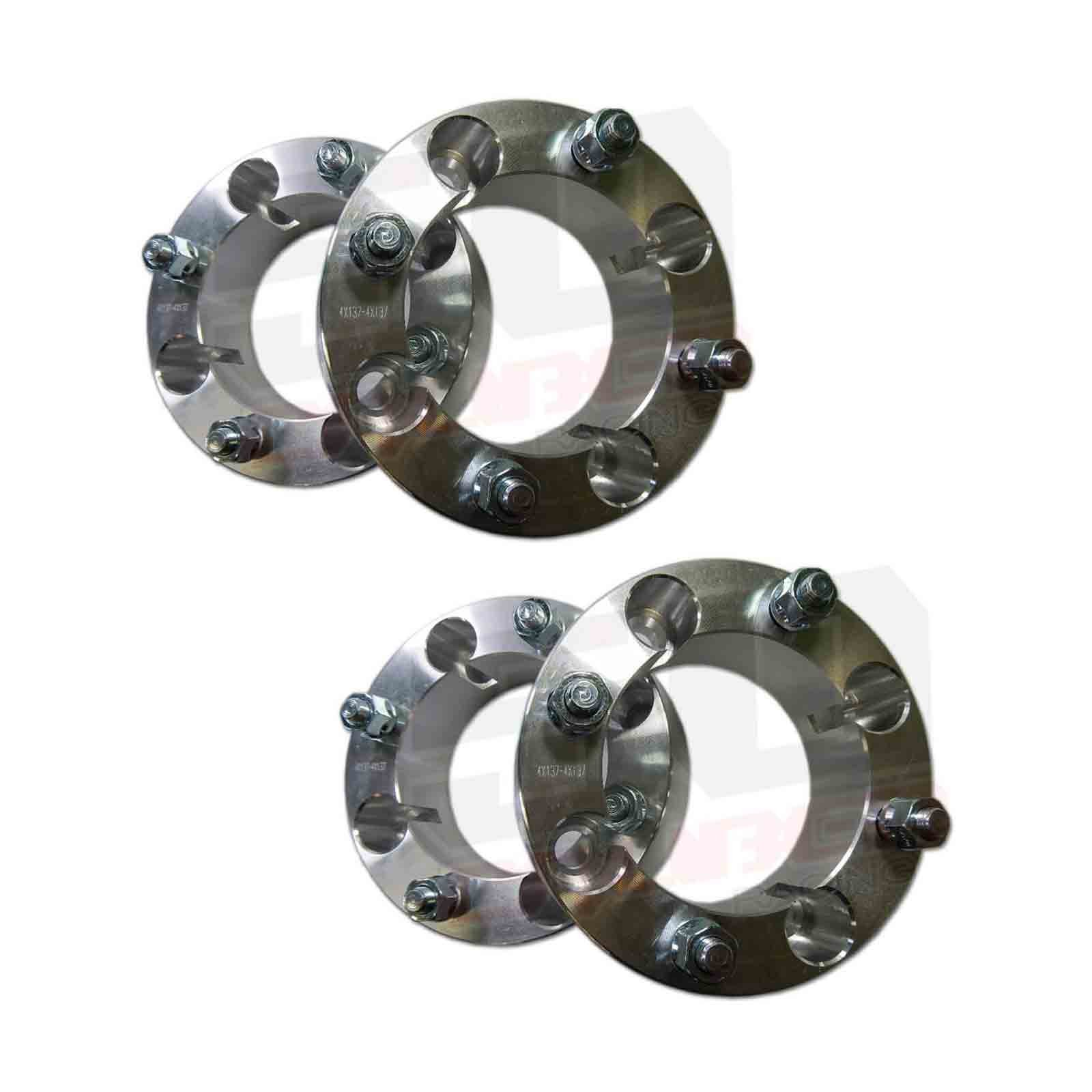 Set of Four (4) Wheel Spacers - 4x137 - 2 inch thick - 12x1.25mm Studs - Fit Kawasaki Teryx , Teryx4 [5217-A1]