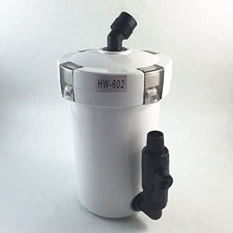 Sunsun HW-602b acuario 1.5L Fuera del pre-filtro para Fish Tank