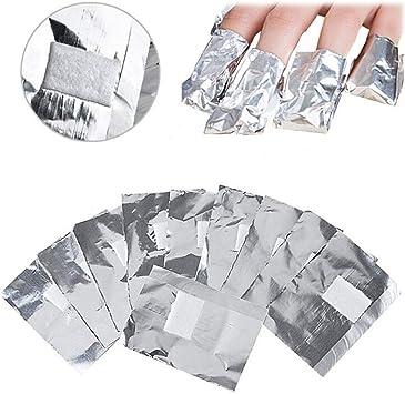 LLAMEVOL - Láminas quitaesmalte de uñas con almohadilla de algodón ...