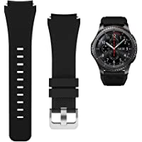 Replacement Watch Bands for Samsung Watch 3/Gear S3 Frontier/Classic Strap Silicone Bracelet S3 Sports Band Strap…