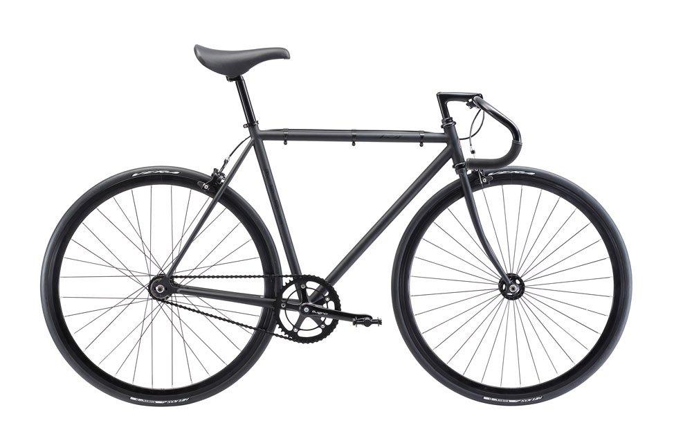 FUJI(フジ) FEATHER 49cm シングル MATTE BLACK ロードバイク 2018年モデル 18FETRBK MATTE BLACK 49cm B075SZBN84