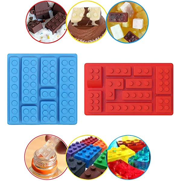 Molde de silicona para cubitos de hielo, diseño de robot, moldes ...