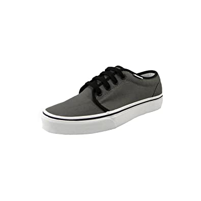 innovative design 56b51 0bfff Vans Women s Shoes 106 Vulcanized Pewter Black Gray Skate Sneakers (4.5  men  6.0 women