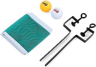 rétractable Balle de ping pong Net Fix équipement pratique d'entraînement compétition Ensemble pour tennis de table