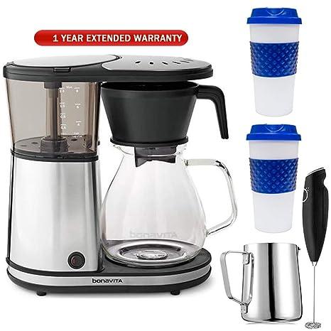 Amazon.com: Bonavita - Juego de 8 tazas de café con jarra de ...