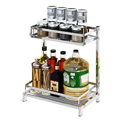 Portaspezie Cucina Ripiano per scaffali per banconi da Cucina, 2 ...
