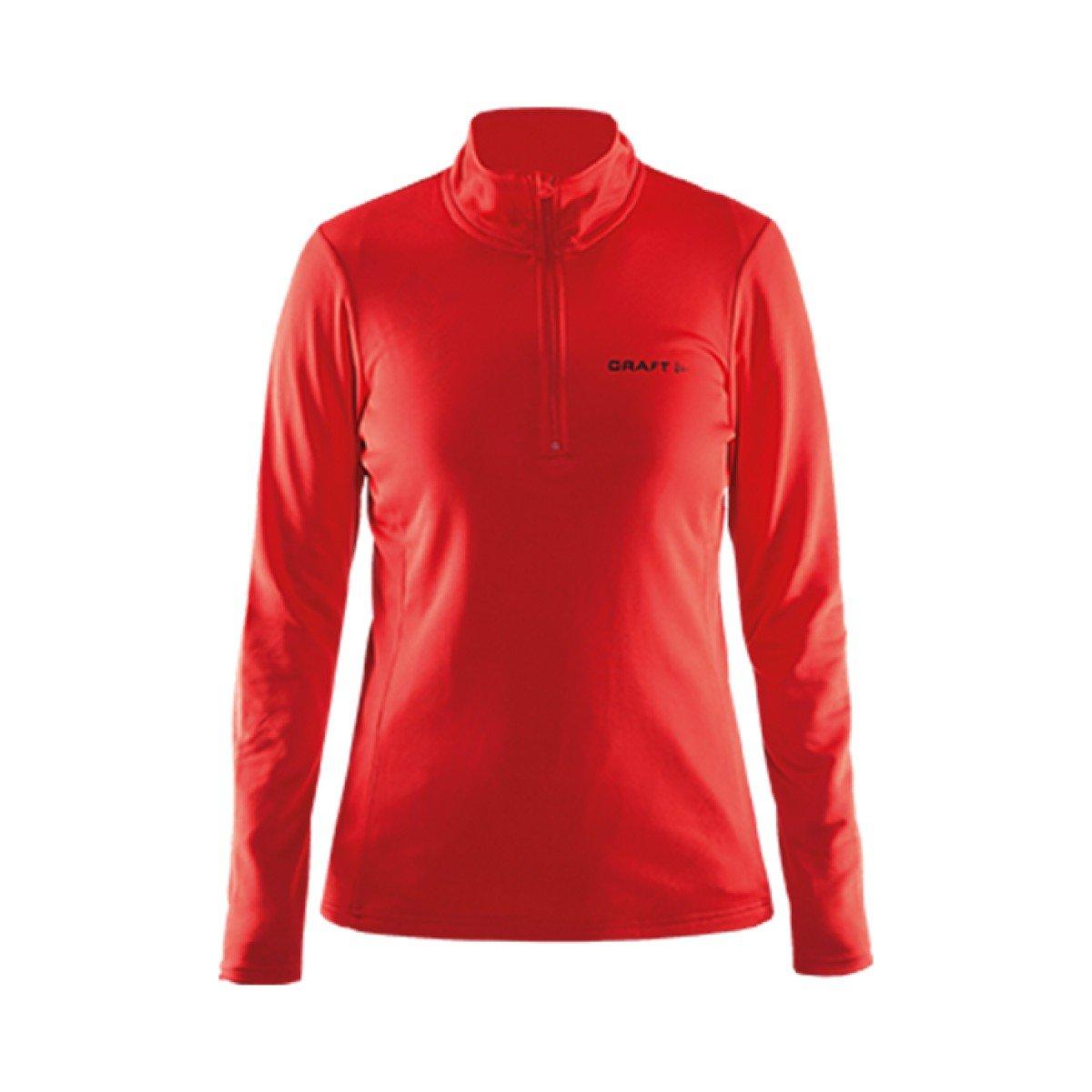 Taglia M Felpa da Sci da Donna Craft Swift Zip W 1904605-1430 Colore: Rosso