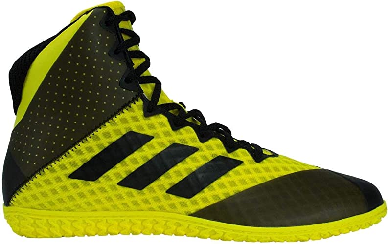 adidas Mat Wizard 4 Yellow Black