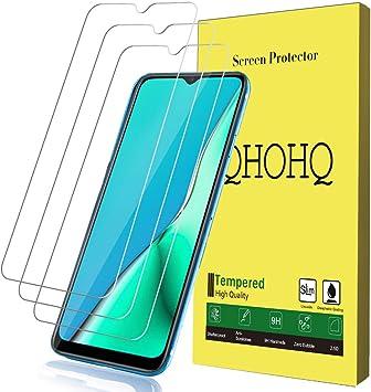 QHOHQ Protector de Pantalla para OPPO A5 2020/OPPO A9 2020, [3 ...