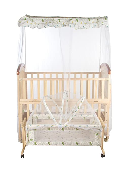 Buy Mee Mee Baby Cot with Cradle Swing and Mosquito Net 155ffc50e