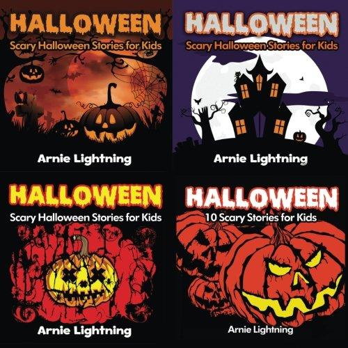 Halloween Book Bundle (4 Books in 1): 30 Scary Stories for Kids and Halloween Jokes (Spooky Halloween Stories) (Volume 2)