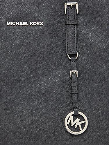 Michael Kors Jet Set Multifunction Tote Black