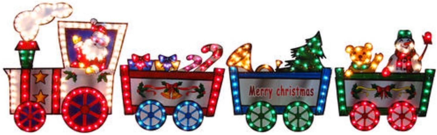 "36"" Lighted Christmas Train ("