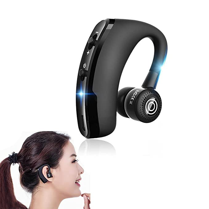 Amazon Com V9 Business Bluetooth Headset Rotatable In Ear Earbud